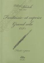 Vilém Blodek, Fantaisie et caprice Grand solo OP. 1